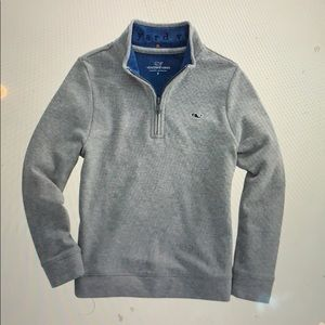 Vineyard Vines Men's 1/4 ZIP Jacket/Sweater Small